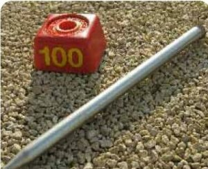 Bloc numérotation au sol