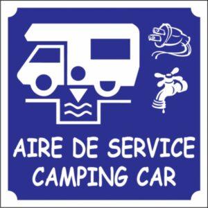 Aire de service camping-car Logo
