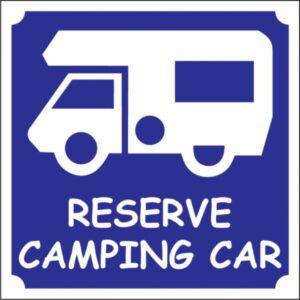 Réservé camping-car