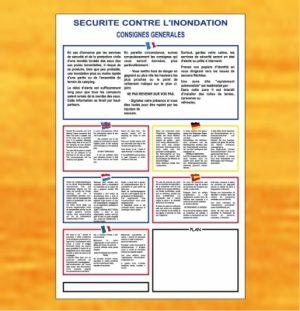 Consignes de sécurité contre l'inondation