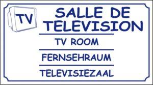 Salle télévision