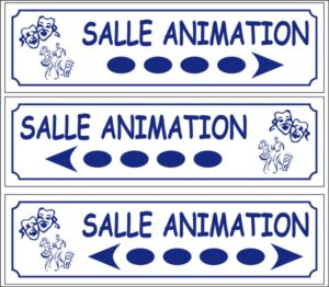 Salle animation directionnel