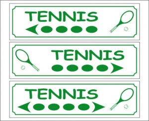 Tennis (directionnel)