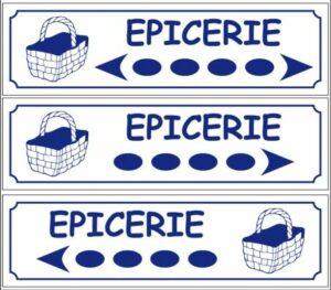 Epicerie (directionnel)