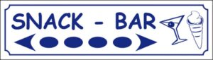 Snack Bar (directionnel)