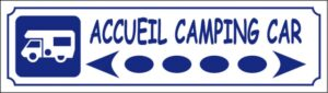 Accueil camping-car directionnel