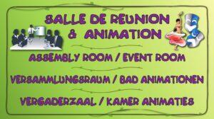 Salle de réunion & animation