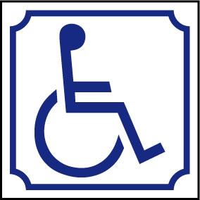 Logo handicapé