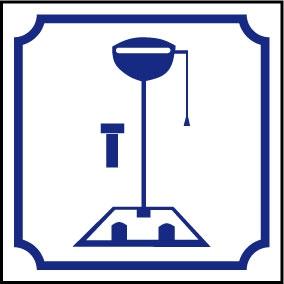 Logo WC turc