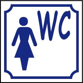 Logo WC femme