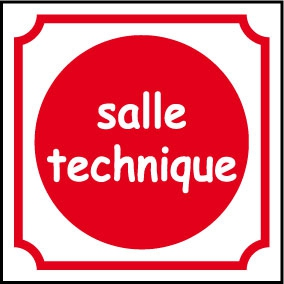 Logo salle technique