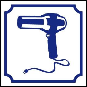 Logo sèche-cheveux