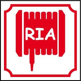 Logo RIA (Robinet d'Incendie Armé)