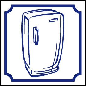 Logo réfrigérateur