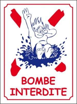 Bombe interdite logo