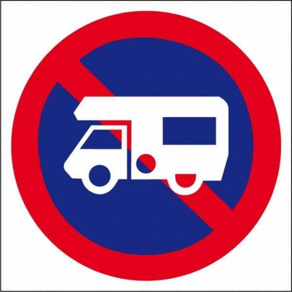 Stationnement interdit camping-car
