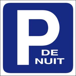 Parking de nuit (petit modèle)