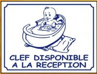 Nursery clef disponible à la réception