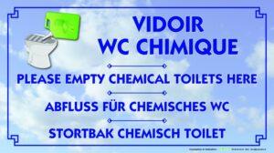 Vidoir WC chimique
