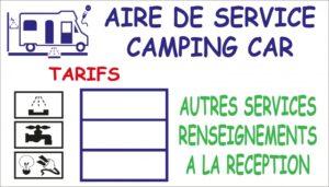 Tarif Camping-car
