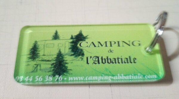 EBCD Signalétique - Camping Abbatiale porte-clé