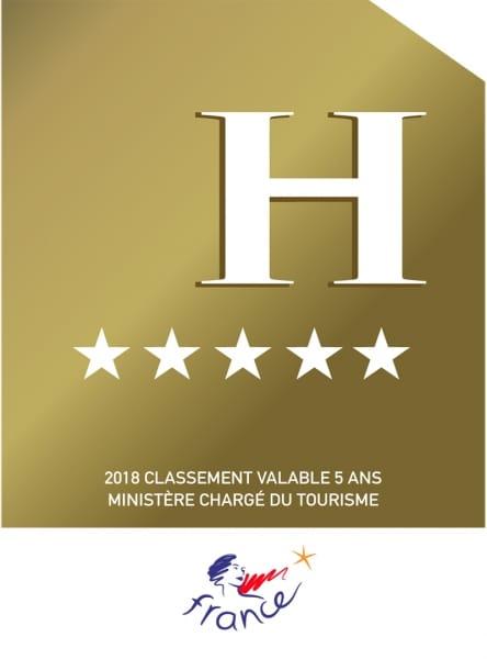 """Plaque de reclassement """"Panonceau officiel"""" Hôtel"""