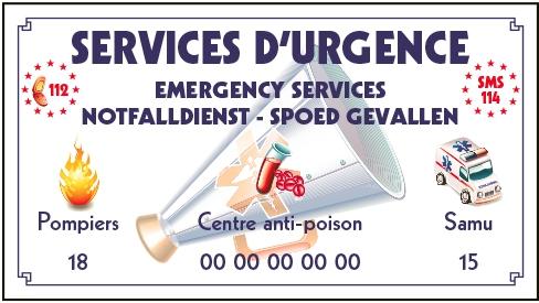 Services d'urgence piscine