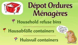 Dépôt ordures ménagères