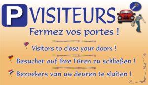 Visiteurs - fermez vos portes