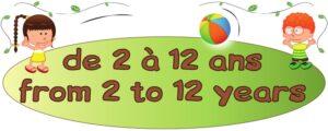 Age conseillé logo