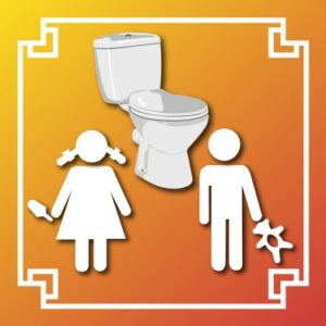 Logo WC enfant