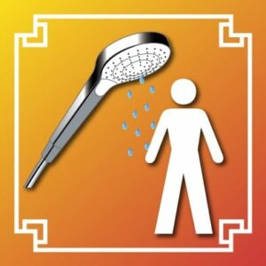 Logo douche homme