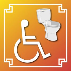 Logo WC handicapé