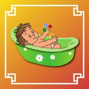 Logo nursery baignoire