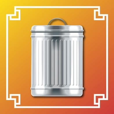 Logo poubelle