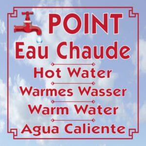 Point eau chaude