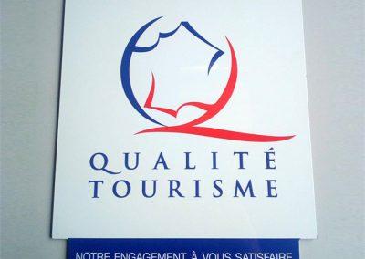 EBCD Signalétique - Label qualité tourisme 2