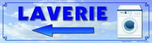 EBCD Signalétique Camping - JN033bis Laverie directionnel