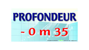 EBCD Signalétique Camping - PN027 Profondeur texte bassin