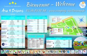 EBCD Signalétique Camping - Tarif plan T002A 4 saisons 2000x1300