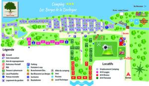EBCD Signalétique Camping - Tarif plan T002A BERGES