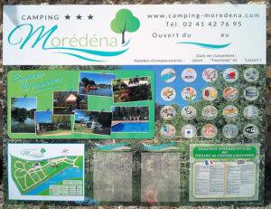 EBCD Signalétique Camping - Tarif plan T002A moredena