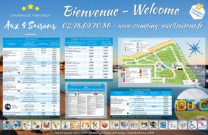EBCD Signaletique camping - 4 saisons 2000x1300 tarif 2019