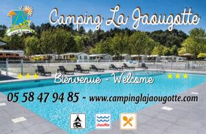 EBCD Signaletique camping - JAOUGOTTE routier 2019 2000 x 1300 Dibond