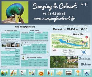 EBCD Signalétique Camping - Tarif plan T002A COLVERT
