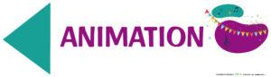 EBCD Signalétique Camping - JE009B 700X200 animation directionnel