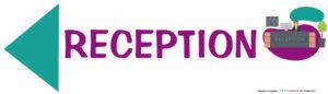 EBCD Signalétique Camping - JE021 Directionnel reception