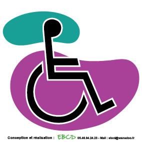 EBCD Signalétique Camping - LE006 handicapé