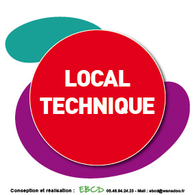 EBCD Signalétique Camping - LE027A Local technique1
