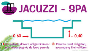 EBCD Signalétique Camping - PE039 Jacuzzi-spa